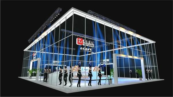 历届上海chinajoy,不仅是各大游戏厂商展示其游戏产品,美女sg的舞台